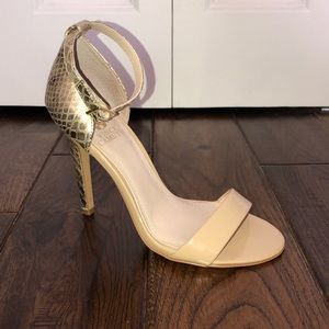 Vince Camuto Nude Sandals